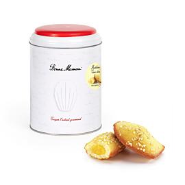 Doos van 10 madeleines met citroenvulling