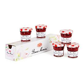 Aardbeien, frambozen en vlierbloesem