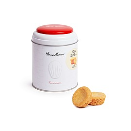Doos van 15 ronde koekjes met pure boter